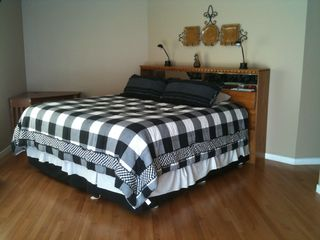 Warren condo photo - Master Bedroom with King; Cherry hardwood floors; Private Full Bath