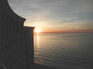 Sea Watch condo photo - Sunrise Taken from the Main Balcony (January)
