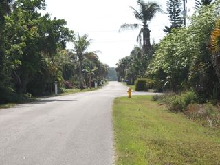 Sanibel Island house photo - Lovely and quiet road with a resident's boat ramp at the end
