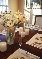 Woodstock house photo - Table set for romantic dinner or special occasion