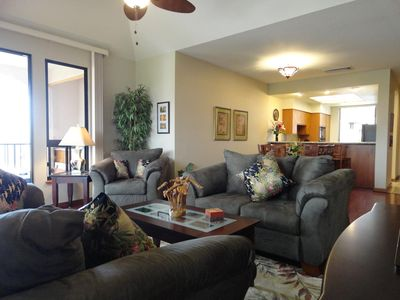 Luxurious new furnishings throughout our large 2 Bedroom condo