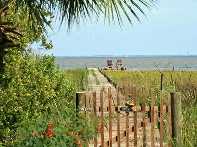 View of Apalachicola Bay