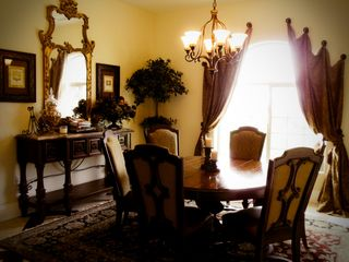 Elegant Formal Dining Room with seating for 6 - Temecula estate vacation rental photo