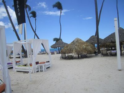 Bavaro apartment rental - Gabi Beach in resort across the street