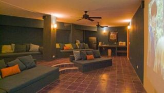 Manuel Antonio villa photo - Private Cinema Room