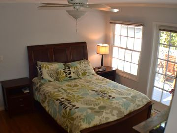 Master Bedroom with Queen-Size Tempurpedic Bed