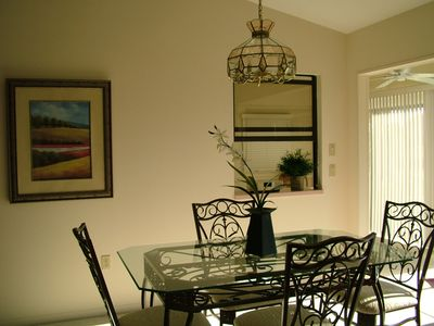Dining open to living room & eat-in kitchen. Bose radio. Great for entertaining!