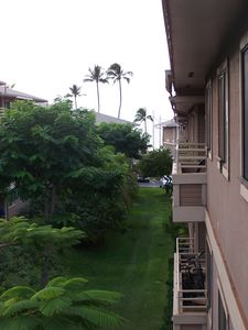 Partial Ocean View from Lanai/Balcony