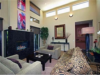 Palm Springs house rental - Living Room