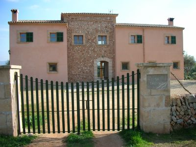 Son Serra de Marina villa rental - ACCESS TO THE HOUSE