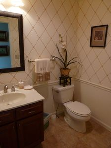 Powder Room Main Level.
