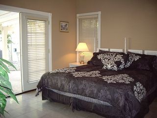 Las Vegas house photo - master bedroom with french door