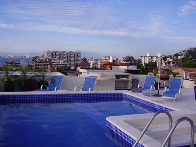Puerto Vallarta condo rental - Pool, its so nice when it's hot and a dip in the pool to cool off
