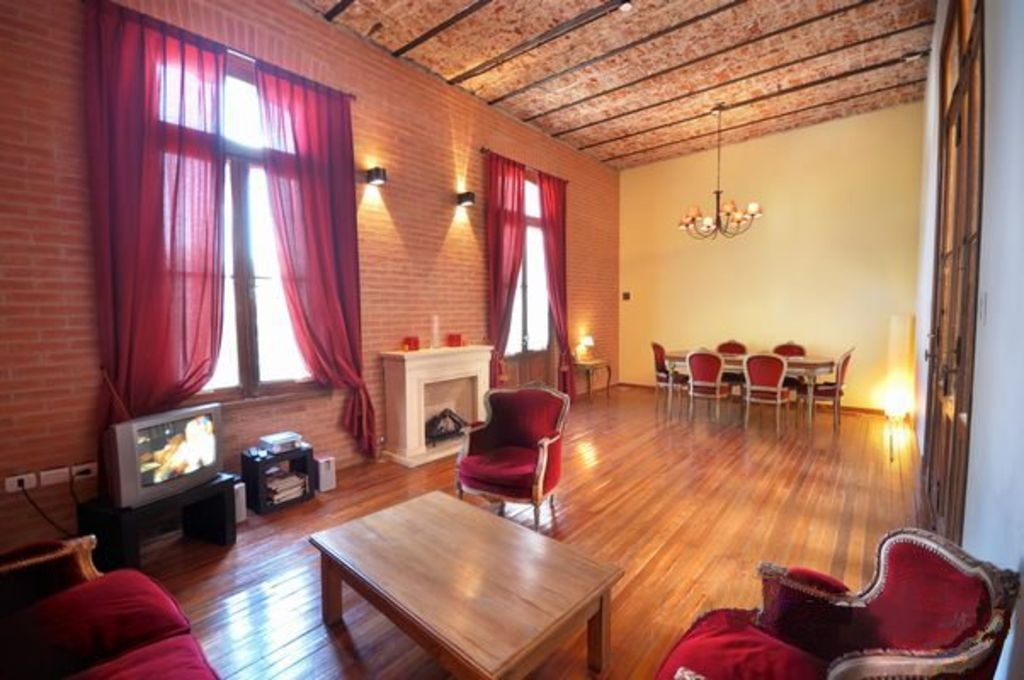 Palermo Soho, elegant duplex, up to 6 people, 2 bedrooms, jacuzzi, terrace, BBQ