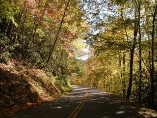 October drive through the Great Smoky Mtn. NP - Gatlinburg condo vacation rental photo