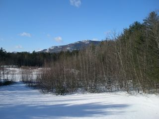 North Conway condo photo - Enjoy the winter view, cross country ski from your backyard.