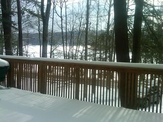 Lake Wallenpaupack house photo - Even when frozen, the lake is still alive with fun