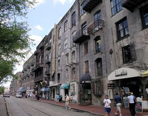 Savannah condo photo - River Street