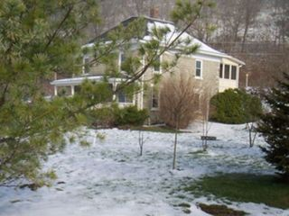 Spring Green house photo - House and yard in winter