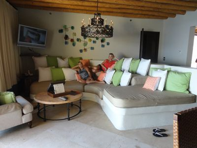 Cabo San Lucas house rental - DOUBLE DECKER COUCH