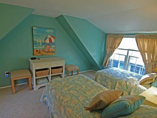 Rehoboth Beach house photo - Twin beds grace the upstairs of the Cottage