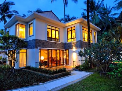 Bang Po beach villa rental - 3-bedroom Heliconia Villa - Exterior