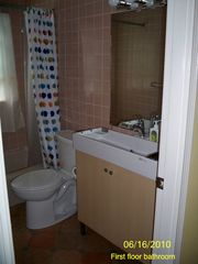 Falmouth cottage photo - First floor bathroom