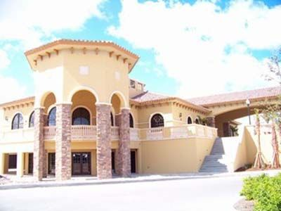 Gorgeous 2 story clubhouse featuring separate locker rooms, card rooms, & more!