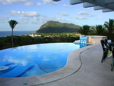 Lo De Marcos house rental - Infinity pool / Sun deck / Hot tub overlooking Pacific Ocean and Lo De Marcos