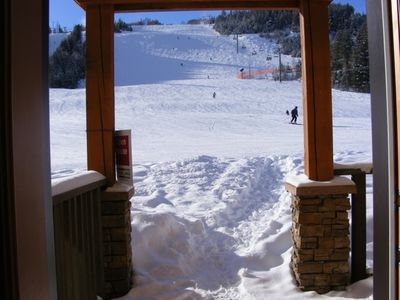 The best position on the ski hill, this is your back door!!!