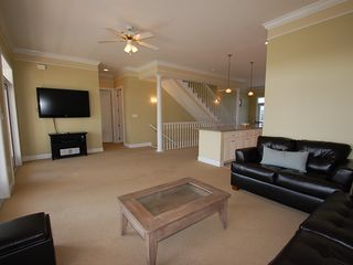 "Fort Morgan property rental photo - Enjoy a movie night or the game on the 55"" LCD with DVD and iPOD dock!!"