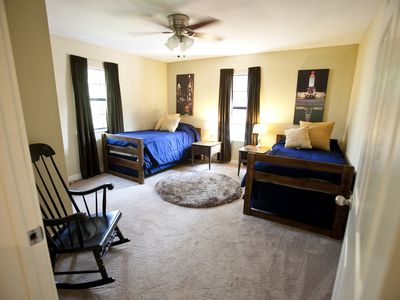 Two twin bedroom, great space for children or additional guests.