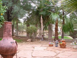 View of greenway from patio - Phoenix house vacation rental photo