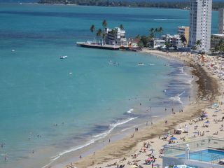 Isla Verde condo photo - Ocean beach view from bedroom of Banana Boat and Jet Ski rentals