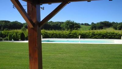 Farmhouse with Large Private Heated Pool  - 5 Bedrooms Sleeps up to 10 *Online Credit/Debit Card Payment Facility*