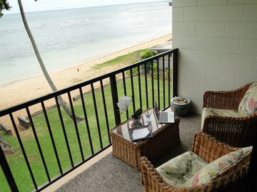 Haleiwa condo rental - Your Virtual Office awaits you.