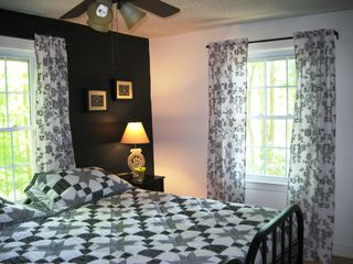Farmville cabin photo - Black and White Bedroom