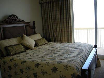 Master Suite has balcony access and relaxing ocean view