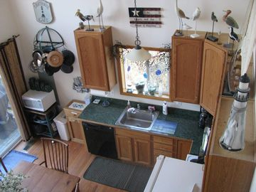 Well equipped kitchen in great room