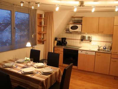 Object 2) Kitchen Top floor duplex apartment