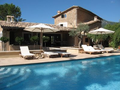 Magnificant Villa with private pool in the center of Soller