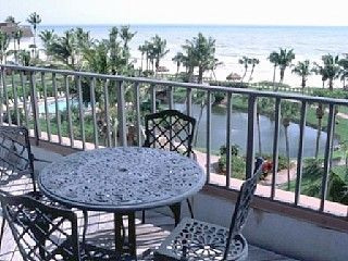 Sanibel Island condo photo - Dine on your private, rooftop sundeck - spectacular sunsets!