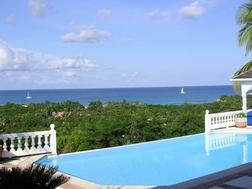 Terres Basses villa rental - SERENE, ROMANTIC, SECLUDED