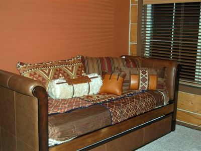 Daybed with Trundle in the Loft