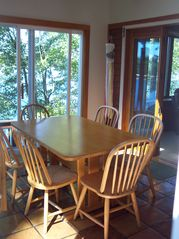 Gilford house photo - Dinning Room has good Lake view