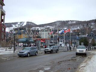 Mont Tremblant townhome photo - Entrance to Village