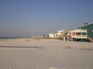Fort Morgan house photo - Uncrowded sugar white sand beach directly across street from Mim's Whim.