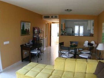 Cala Anguila-Cala Mendia apartment rental - Living Room / Dining Room - Lydia