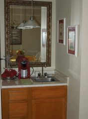 Port Royal villa photo - Wet Bar: great for Keurig coffee or for making drinks to enjoy on deck!