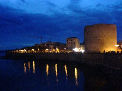 Old Town (Alghero) apartment rental - View of Torre Sulis